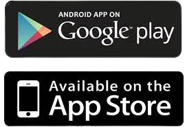 google playstore and apple appstore logo